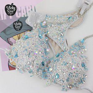 Bride WBFF  Bodybuilding Competition Bikini Suit